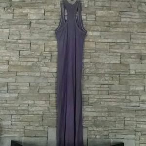 James Perse Tank Dress 2 Grey